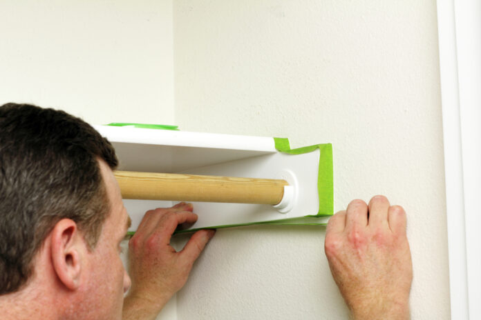 when to remove painters tape